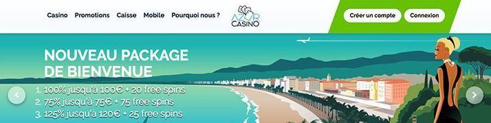 счёт в казино azur casino рецензия